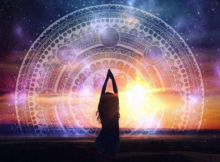 Energie czerwca - globalne pole miłości.